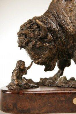 western bronze sculptures