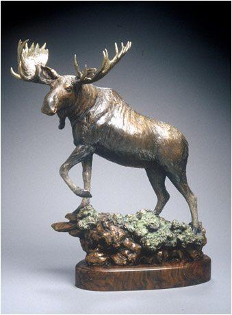 GIBBY BRONZE - Gibby bronze Burlsworth trophy