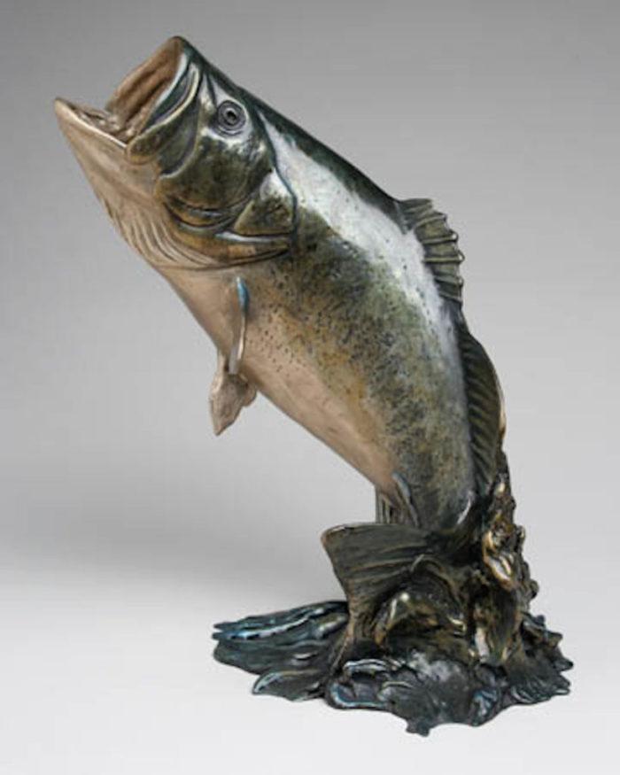 contemporary bronze sculpture