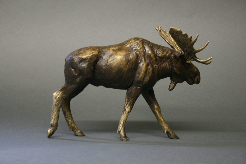 contemporary bronze sculpture