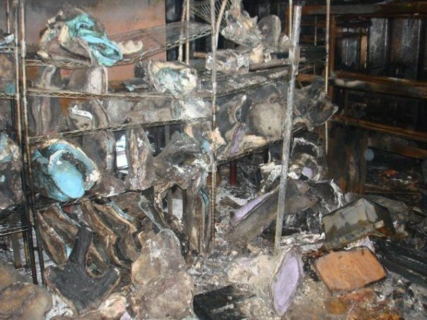 Studio fire destroyed Gibby's molds