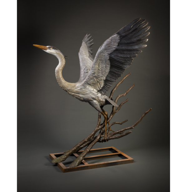 Great Blue Heron - Monument
